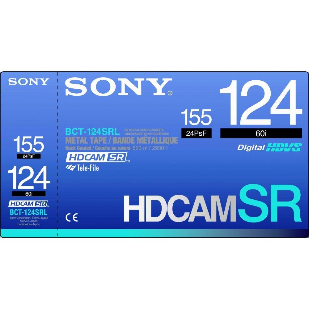 Sony BCT124SRL HDCAM SR 124 Minute Video Tape, Large