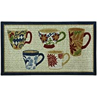 Bacova Guild Classic Berber Skid-Resistant Accent Rug, Coffee, 40x22