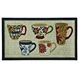 Cheap Bacova Guild Classic Berber Skid-Resistant Accent Rug, Coffee, 40″x22″