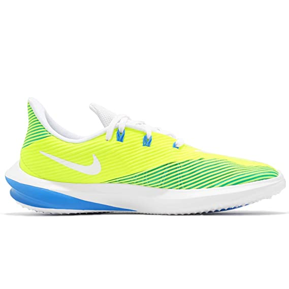 huge selection of 6b637 e8d45 Amazon.com   Nike Kids  Preschool Future Speed Running Shoes (Volt White,  2)   Sports   Outdoors