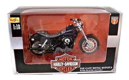 Amazon.com: Maisto Harley Davidson 2000 FXDX Dyna Super ...