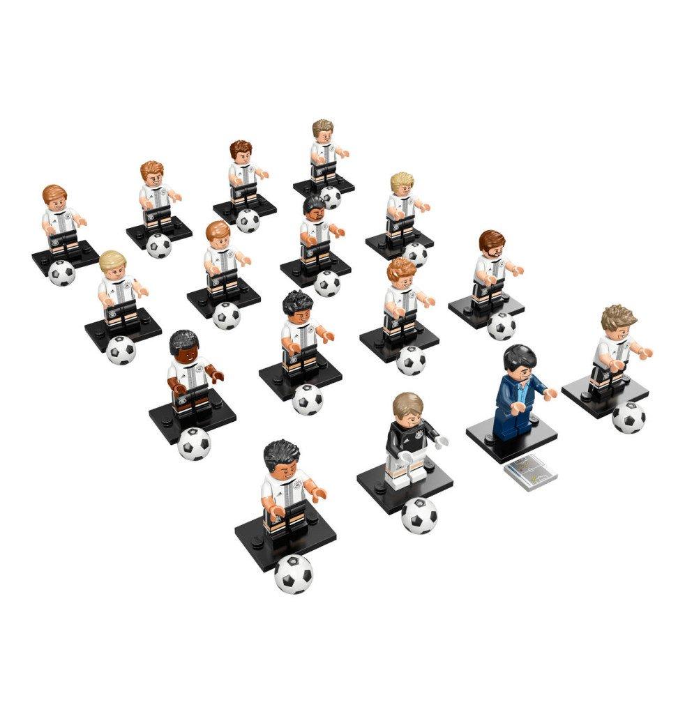 Lego Minifiguren Die Die Die Mannschaft kompletter Satz alle 16 Figuren 84640a