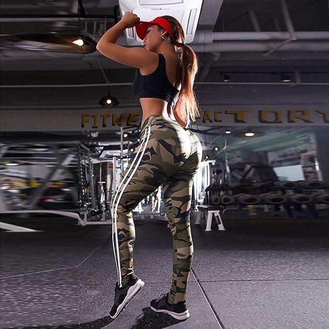 YWLINK Damen Farbverlauf Leggings Fitness Tie Dye Drucken Sport Gym Hohe Taille Bequem Mode Yoga Athletische Workout Hosen