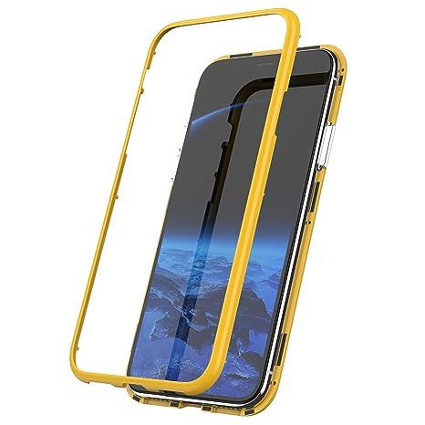 coque iphone xr antichoc jaune