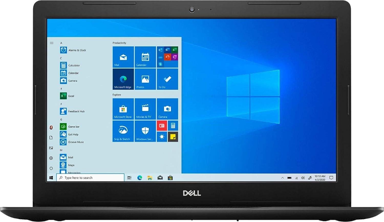 "2021 Dell Inspiron I3593 15.6"" HD Touchscreen Laptop Computer 10th Gen 4-Core Intel i7-1065G7 12GB DDR4 RAM 512GB NVMe SSD Intel Iris Plus Graphics Webcam Bluetooth Wi-Fi RJ-45 HDMI Windows 10 S Mode"