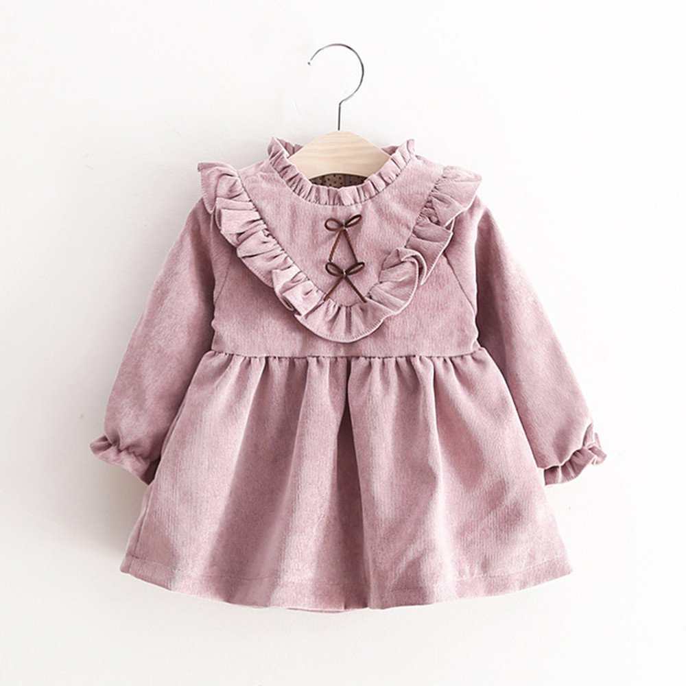 Amazon.com: Dingji Toddler Kids Baby Girls Autumn Fashion Long ...