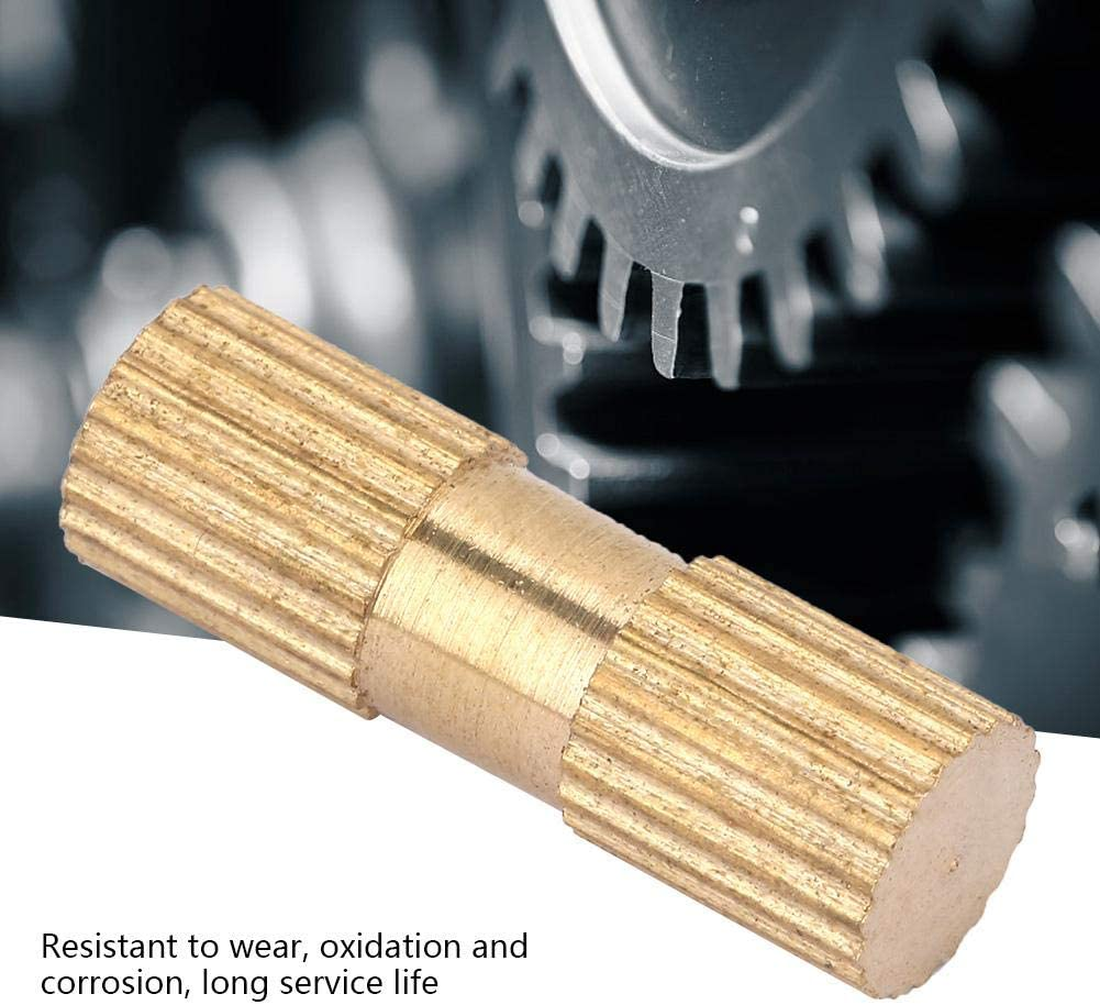 ZJchao Brass Threaded Insert Nuts M4166.3 M4 Cylinder Knurled Round Molded-in Insert Embedded Nuts 6.3mm