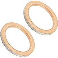 Caltric 2 Exhaust Muffler Silencer Gasket for Can-Am Commander 1000 2013-2019 707601033