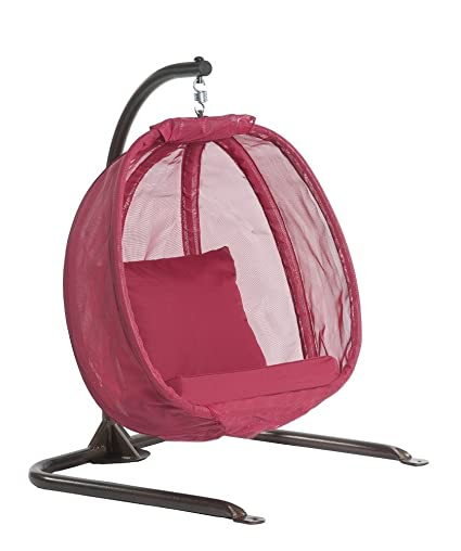 Flowerhouse Hanging Egg Chair Junior- Red FHJC100-RD  sc 1 st  Amazon.com & Amazon.com : Flowerhouse Hanging Egg Chair Junior- Red FHJC100-RD ...