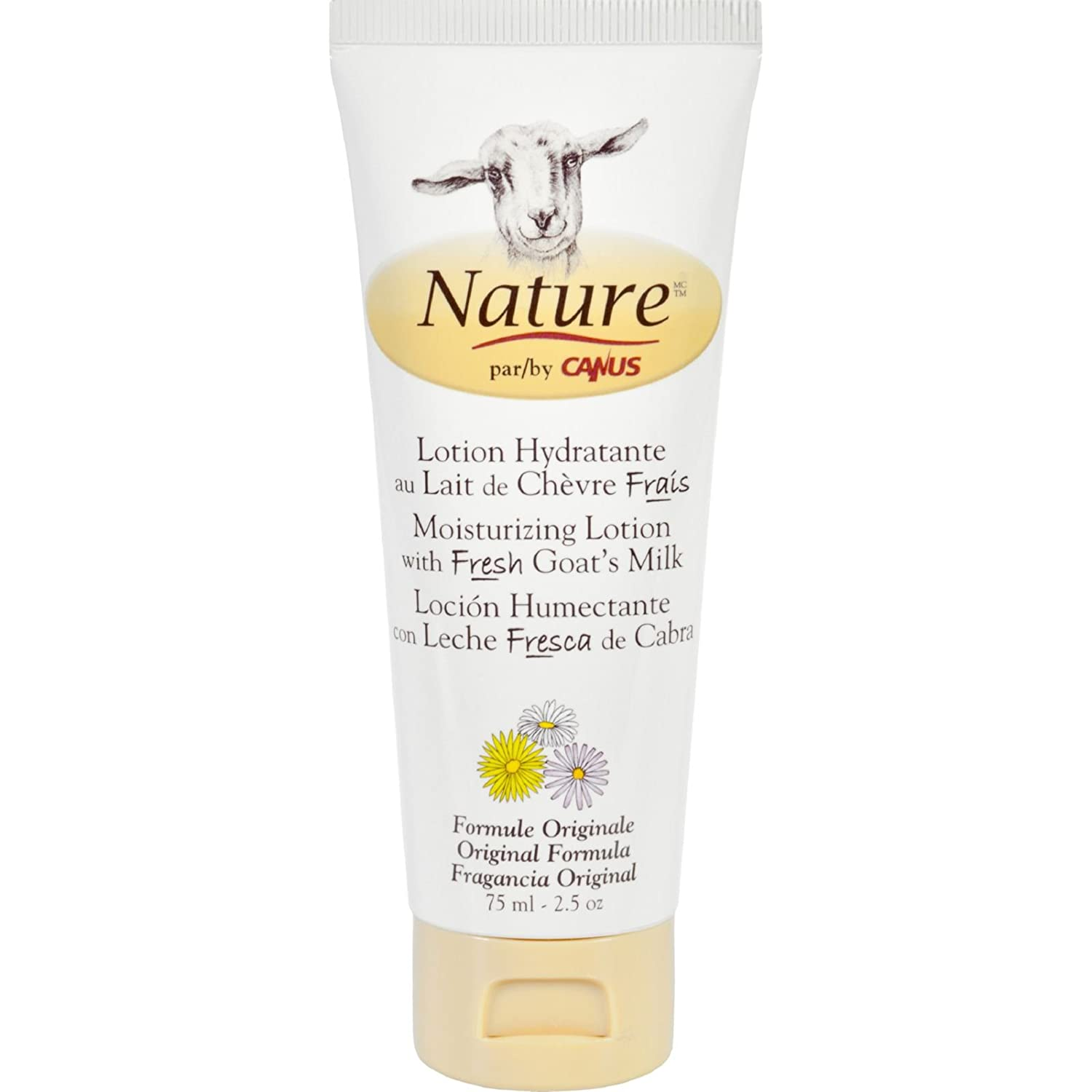 Amazon.com : Nature By Canus Lotion - Goats Milk - Nature - Original Formula - 2.5 oz : Beauty