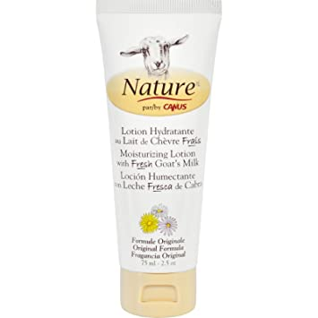 Nature By Canus Lotion - Goats Milk - Nature - Original Formula - 2.5 oz