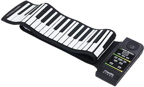 Wghz Piano Enrollable de 88 Teclas, Piano electrónico ...