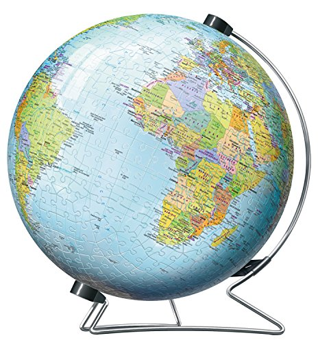 -[ Ravensburger The World on V-Stand Globe 540 pc 3D Jigsaw Puzzle  ]-