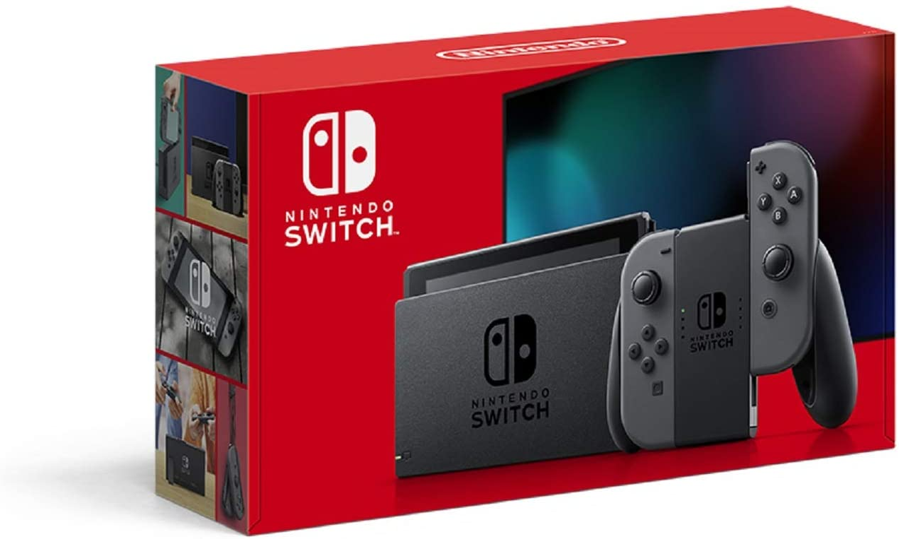 Amazon | Nintendo Switch 本体 (ニンテンドースイッチ) Joy-Con(L)/(R) グレー | ゲーム