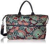 Vera Bradley Women's Lighten up Expandable Travel Bag, Nomadic Floral For Sale