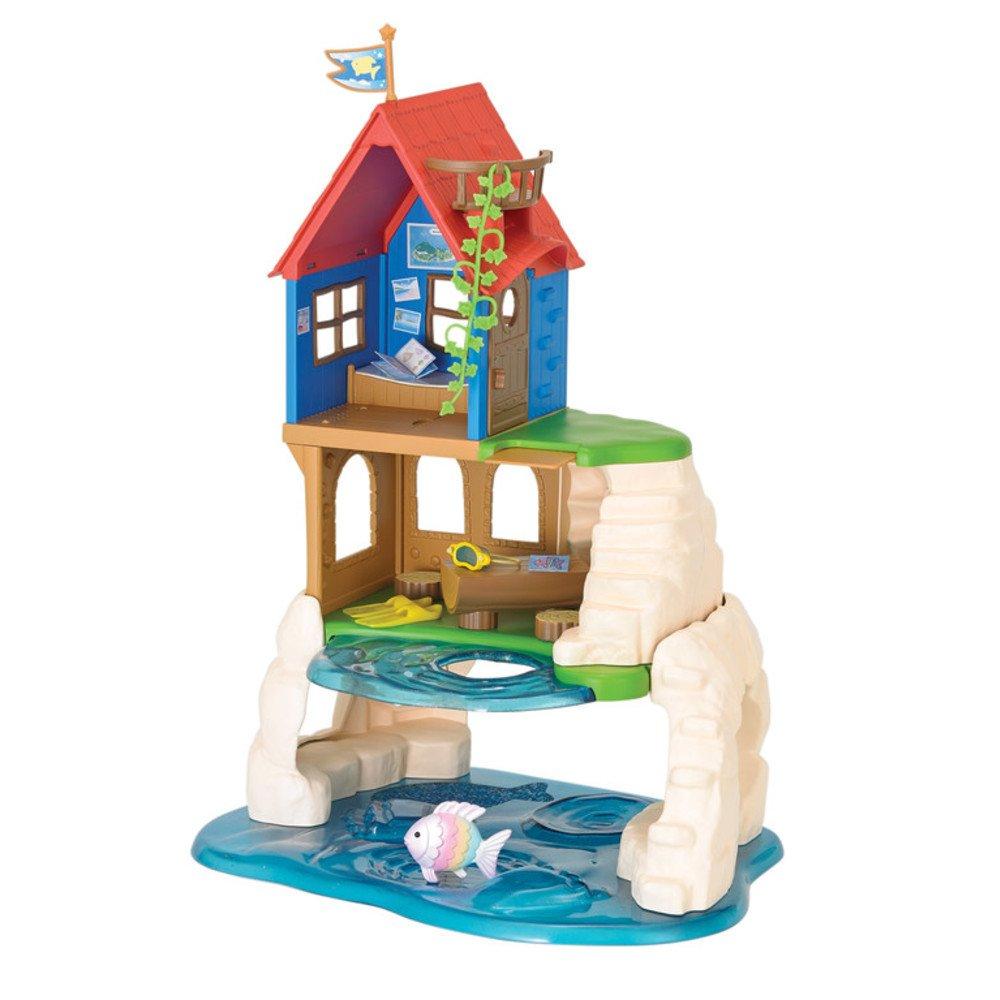 amazon com calico critters secret island playhouse toys u0026 games