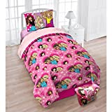 Mattel Barbie 'B Anything' Girls Exclusive 4-Piece Twin Bedding Set with Bonus Tote