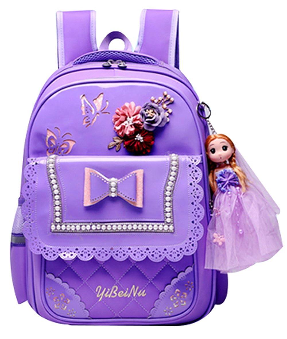 JiaYou APPAREL ガールズ B07FJ6XZ4C Stylee Purple Medium