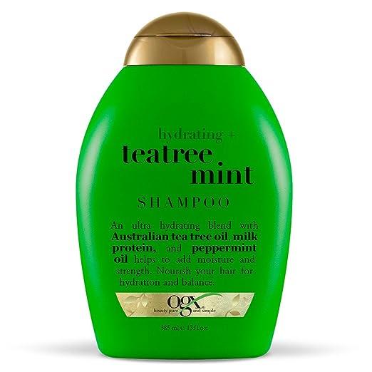 5. OGX Hydrating + Tea Tree Mint Shampoo