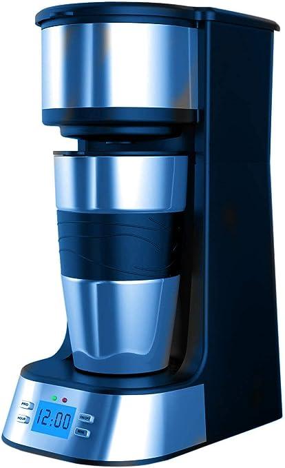 Cafetera 1 tazas, webat Cafetera Eléctrica 1 tazas Acero ...