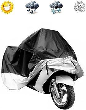Waterproof Motorcycle Scooter UV Dust Protector Rain Cover Dirt Bike Black L New
