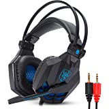 Headset Gamer Com Microfone Estéreo P2 Super Bass 5.1 HD Para Pc Computador Notebook Mac Xbox One Xbox Series X e S Ps4 e Ps5