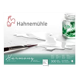 Hahnemuhle Harmony Watercolor Block Hot Pressed 12x16 Inches 12 sheets