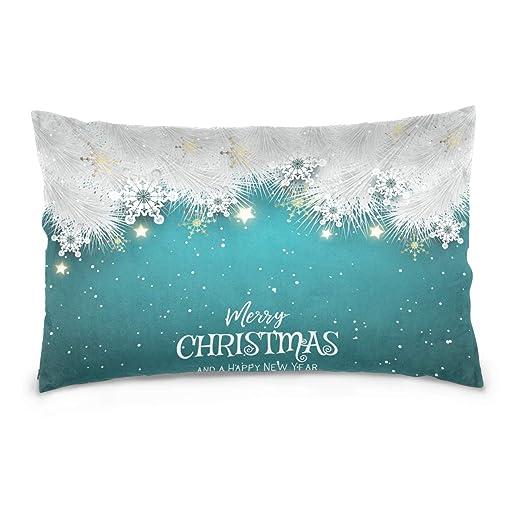ARIELLA Arilla Merry Christmas - Funda de cojín con diseño ...