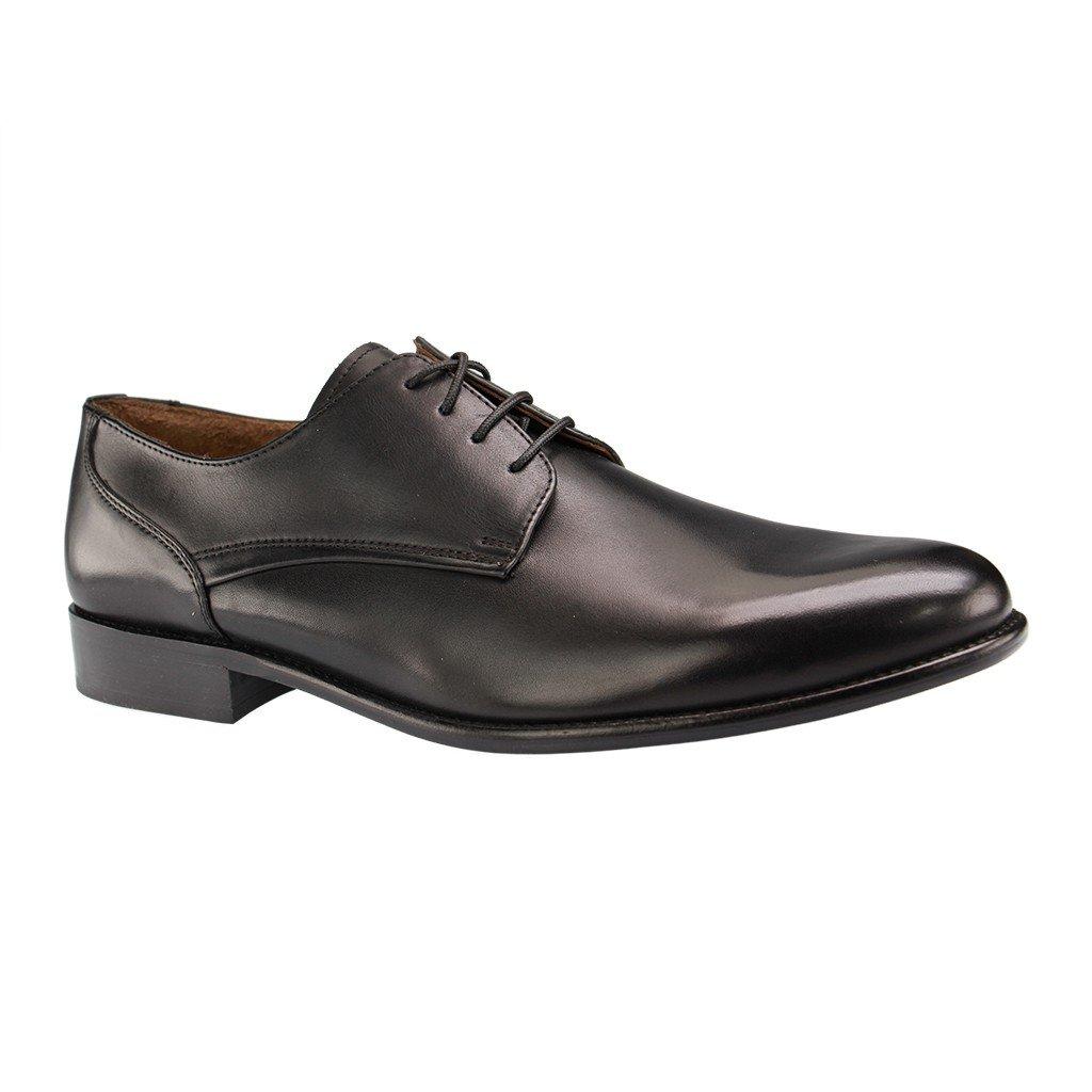 Manz - Herren Business in Schuhe - Schwarz Schuhe in Business Übergrößen 012775