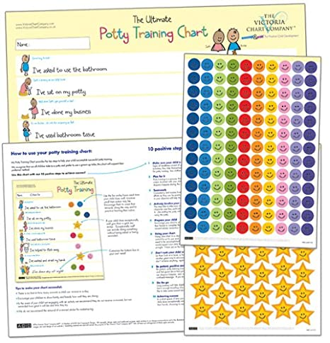Amazon The Ultimate Potty Training Reward Chart For 2 Yrs