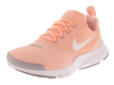 d6d0dacb35d0b Nike Kids Presto Fly (GS) Crimson Tint/White Running Shoe 5 Kids US