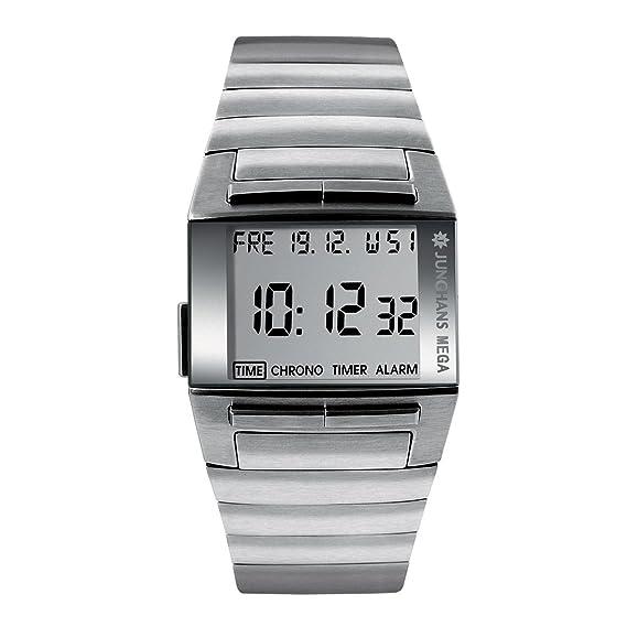 Junghans 026/4513.44 - Reloj digital de caballero de cuarzo ...