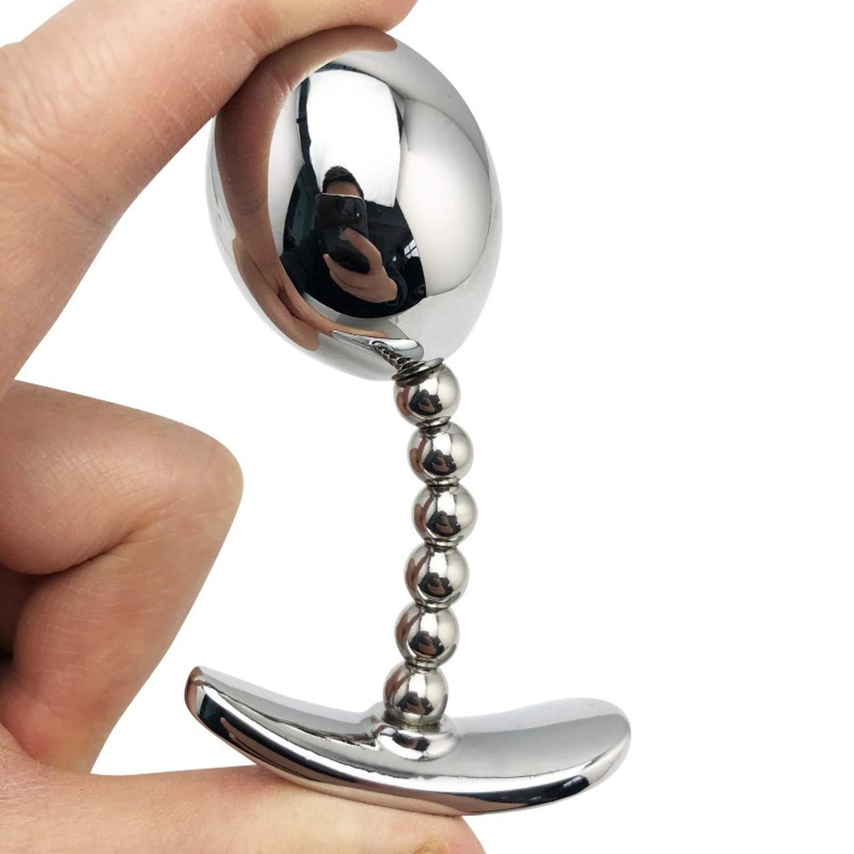 Amazon.com: Stainless Steel Anal Plug Big Anal Balls ...