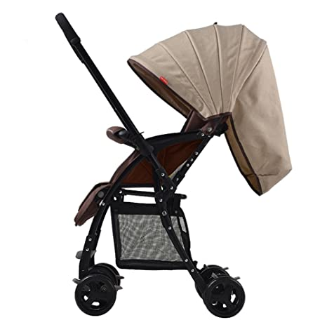 MUMA Cochecito Muy ligero Bidireccional Bebé A prueba de golpes Recién nacidos Niño Cochecito plegable (