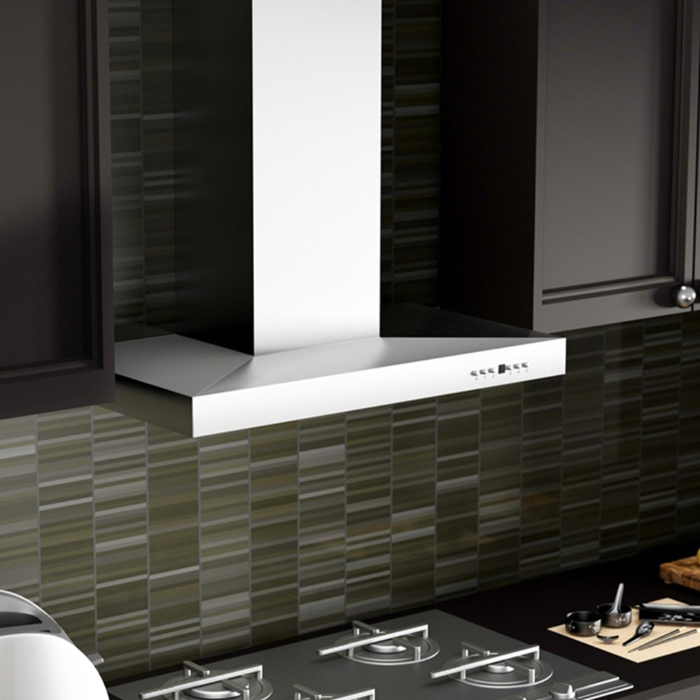 Amazon com z line ke 30 stainless steel wall mount range hood 30 inch appliances