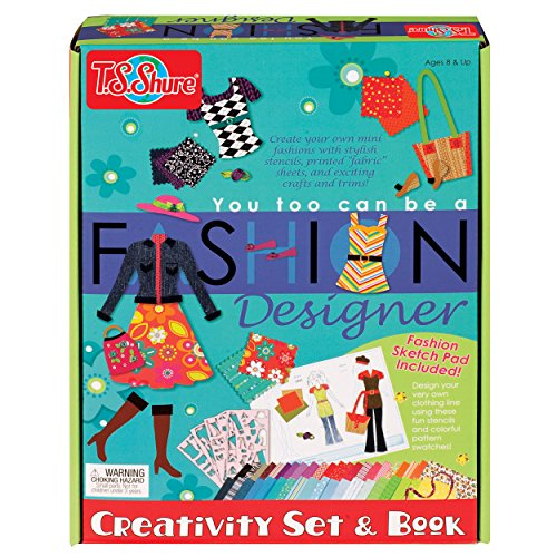 T.S. Shure You Too Can be a Fashion Designer Creativity Set & Book ()