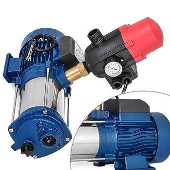 Bomba centrífuga de jardín, bomba de jardín de 2200 W 9600 L/H, bomba de irrigación de alta eficiencia, accesorios de jardín (para la circulación del agua).: Amazon.es: Industria, empresas y ciencia
