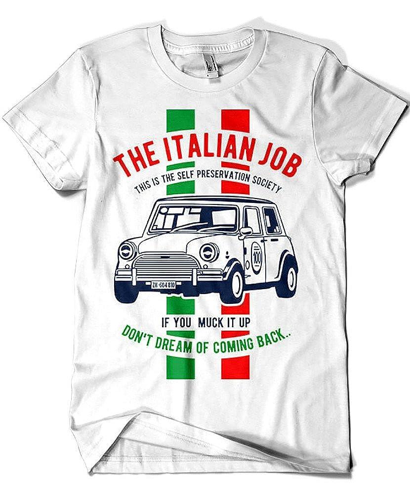 4159-Camiseta Premium, The Italian Job: Amazon.es: Ropa y accesorios