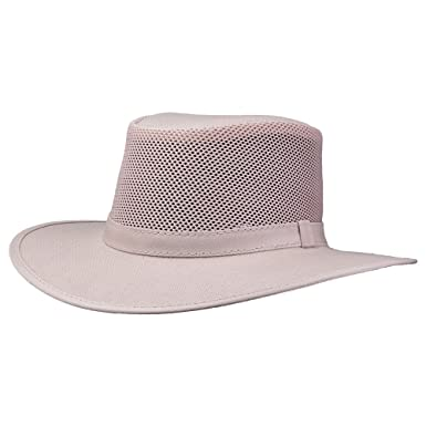 54514179d56 Amazon.com  American Hat Makers Explorer by SolAir Hats Mesh Leather ...