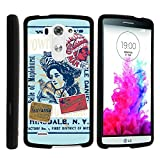 LG G3 Phone Cover, Stylish Personalized Protective Snap On Hard Case Phone Protector for LG G3 (D850, D851, D855, VS985, LS990, US990) by MINITURTLE - Traveling to Native America