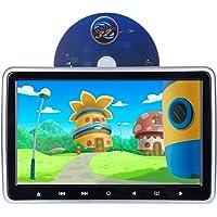 Alondy Car DVD Player reposacabezas Monitor digital 10.1