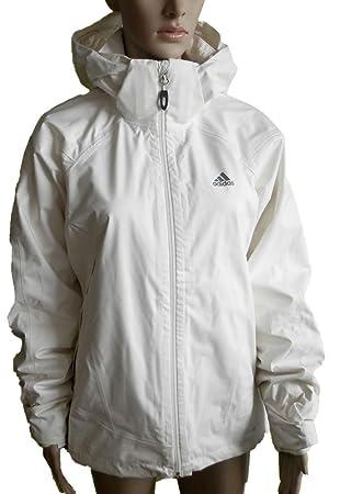 adidas W HT 3IN1 FL Damen Winterjacke Ski Winter Jacke Weiss
