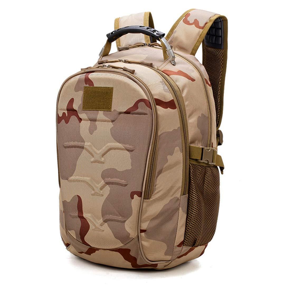 アウトドア タクティカル バッグ バックパック カモフラージュ リュックサック 旅行 アーミー アウトドア バックパック キャンプ ハンティング 防水 B07KGFWGPV 6