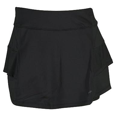c6235e536c Amazon.com: Fila Women's Platinum Ruffle Tennis Skorts, Black, S ...