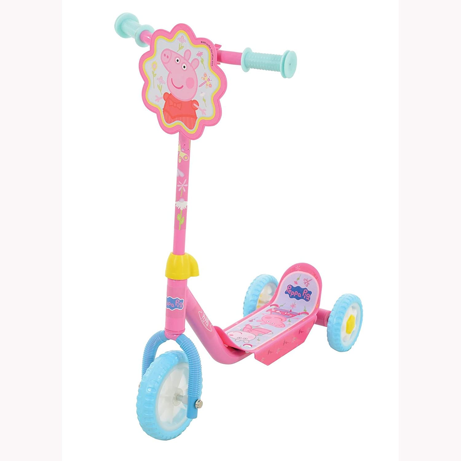 peppa pig tri scooter amazon co uk toys u0026 games