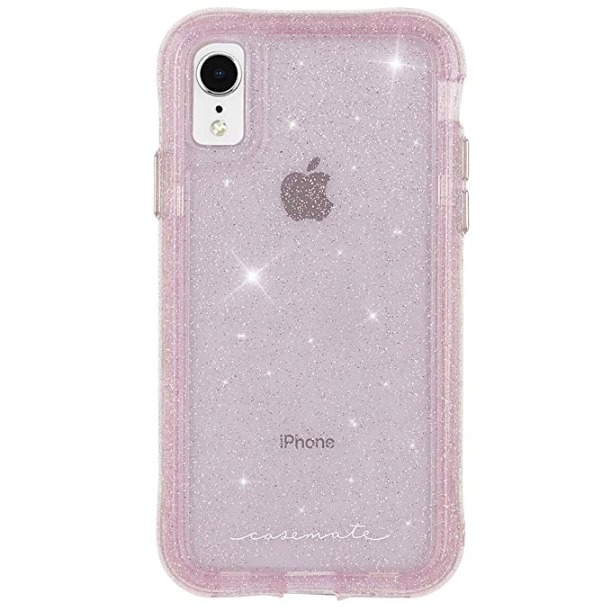 new concept 95568 bd973 Case-Mate - iPhone XR Case - PROTECTION COLLECTION - Sheer Crystal - iPhone  6.1 - Crystal Blush
