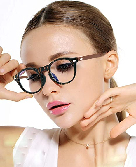 With Anti Scratch Clear Coated Lenses For Fashion Wear Ladies Glasses Frames