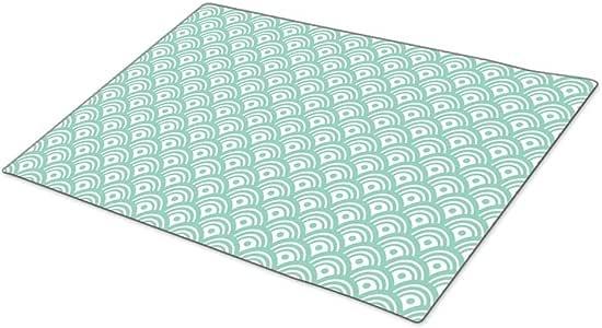 QuiQ Monogrammed Door Mat Scales Blank One size