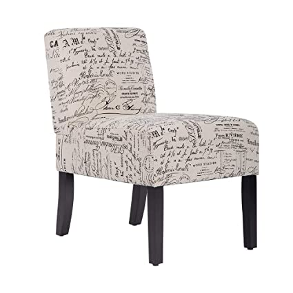 Amazon.com: Armless Contemporary Sofa Accent Chair ...