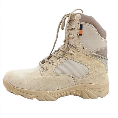 Gtagain Fermeture Homme Randonnée Chaussures Militaire Respirant tsdhQr